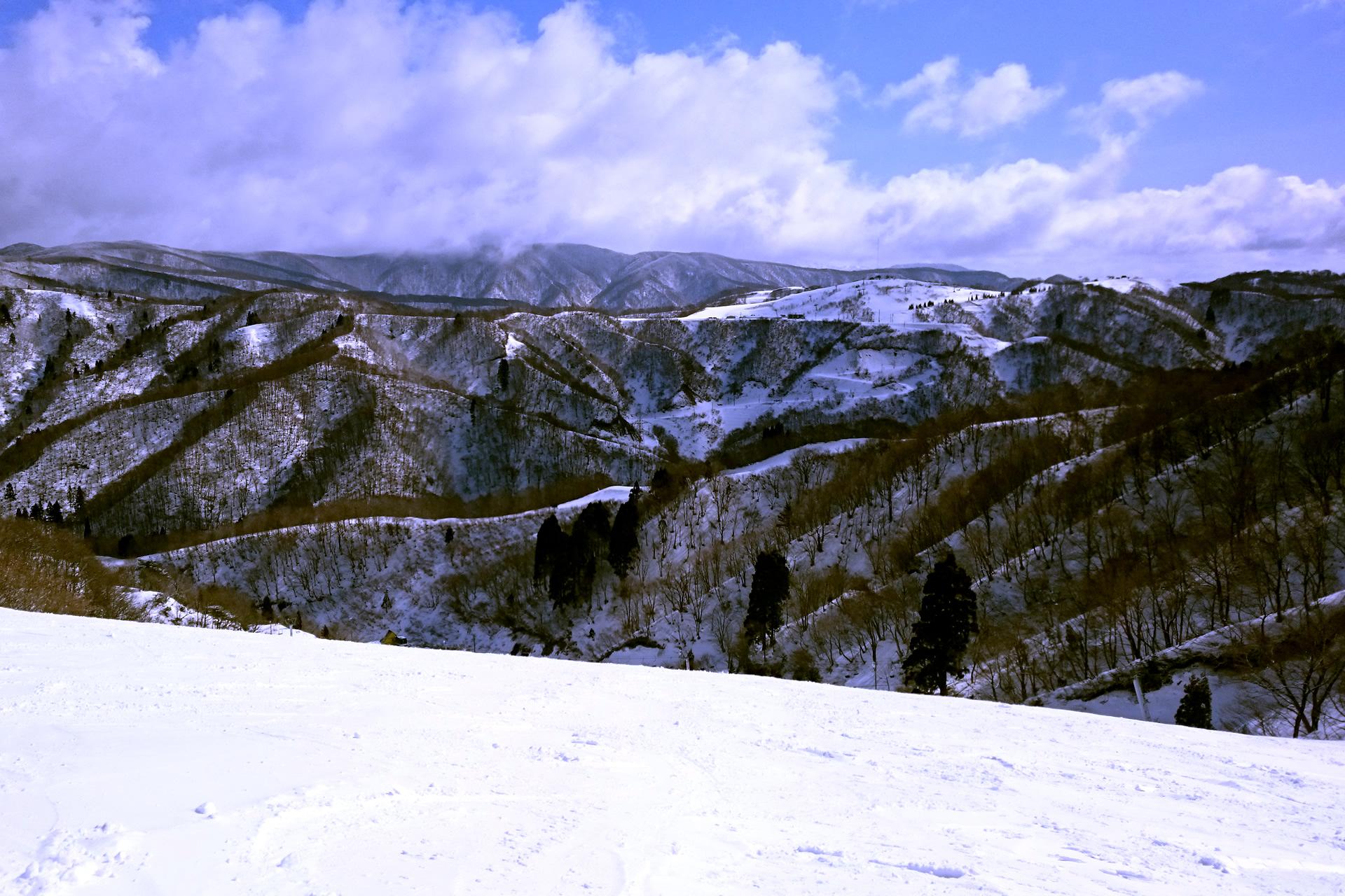 高鷲スノーパークスキー場・山頂