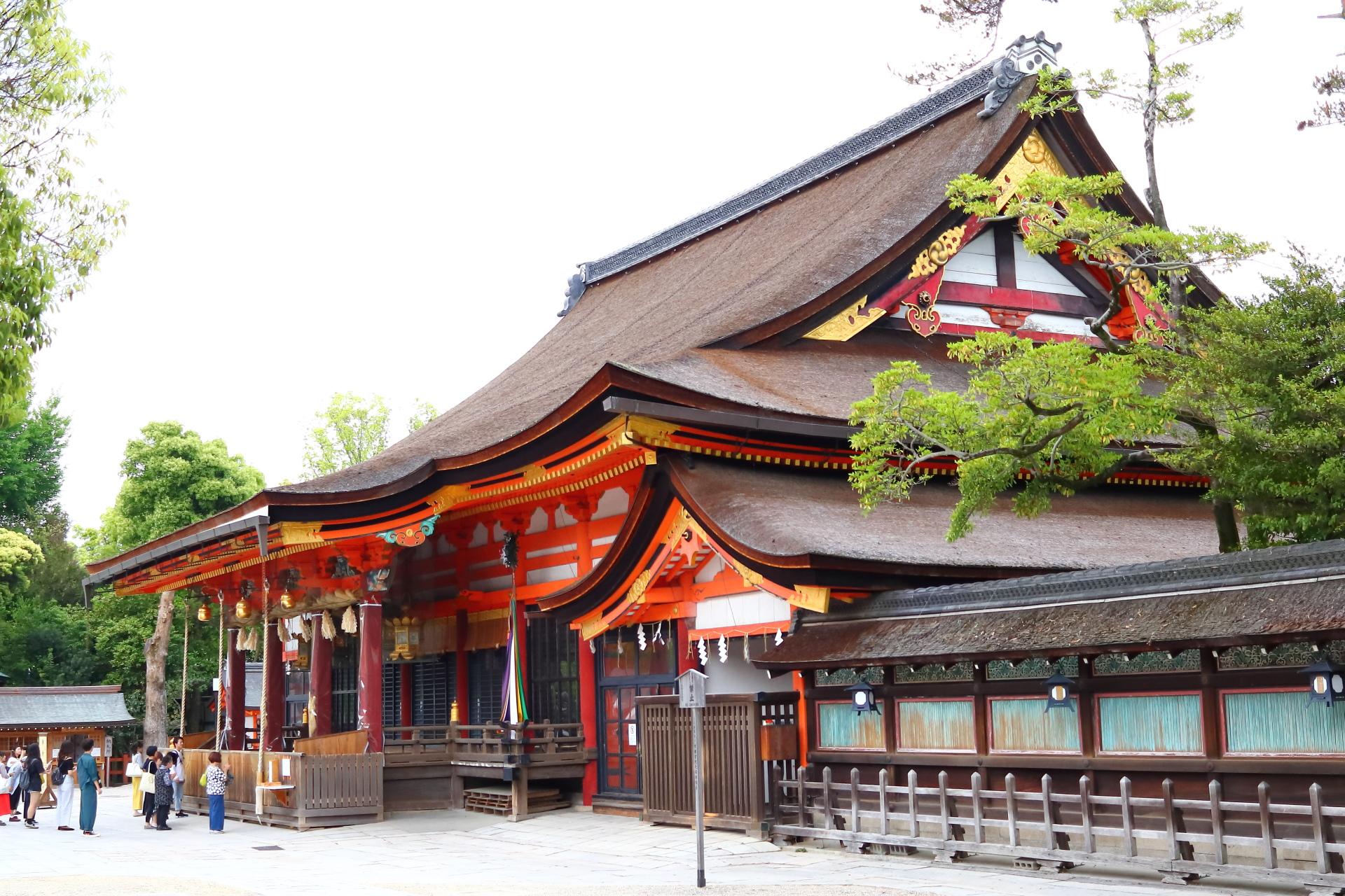 京都・東山 八坂神社(旧名 感神院または祇園社)本殿
