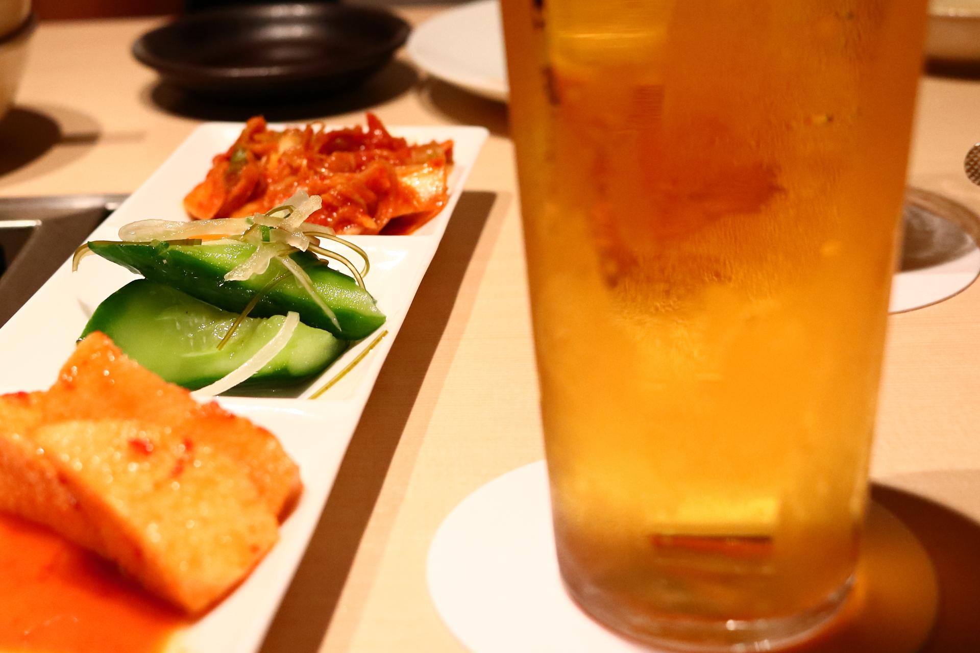 今日のキムチ(京都・四条烏丸の焼肉屋Y)