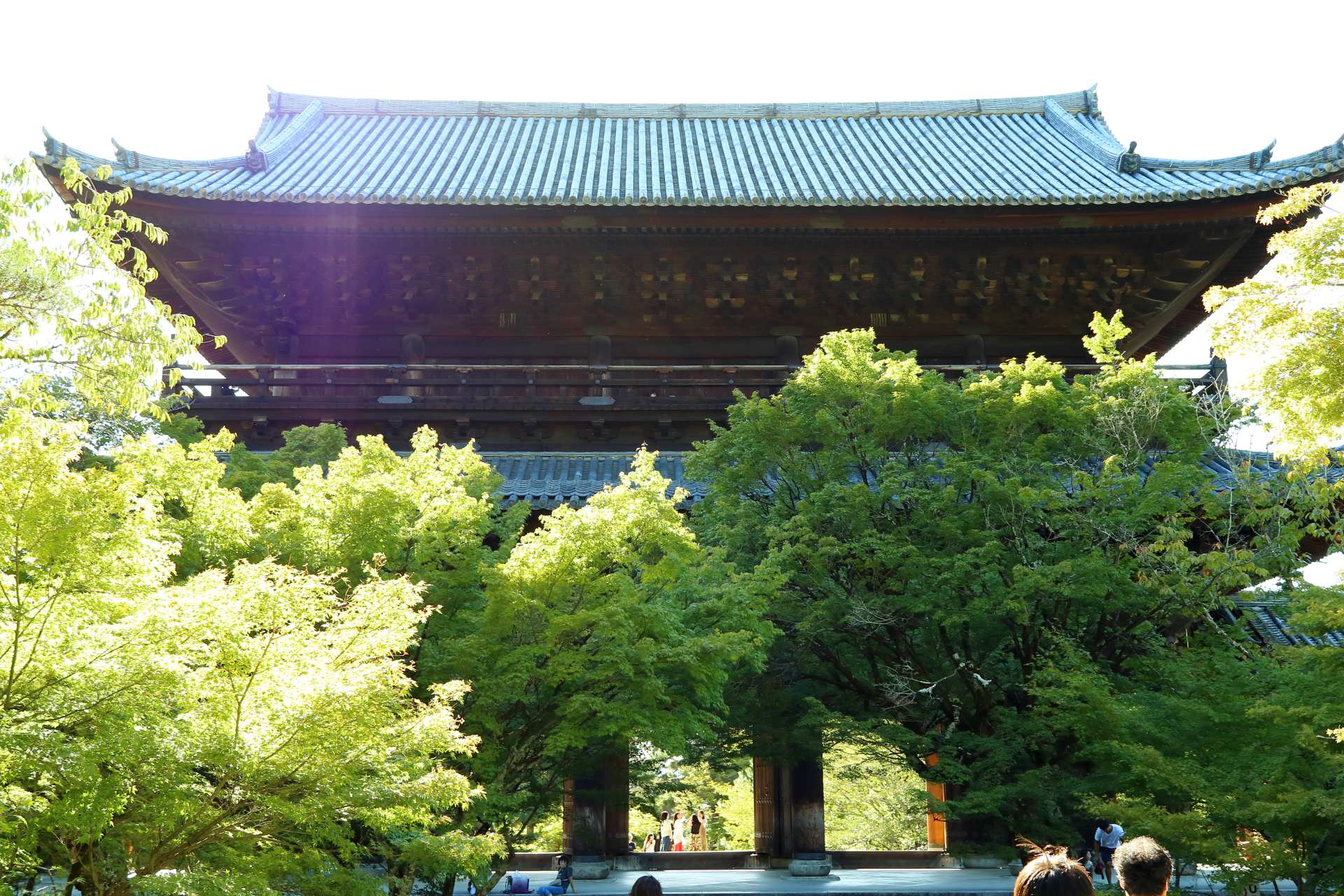 日本三大門の一つ南禅寺三門・別名「天下竜門」