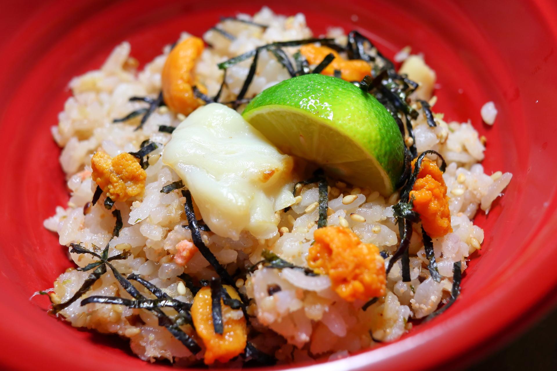 淡路鯛と由良雲丹の絶品まぜご飯―「御食国☓京都」和食の祭典