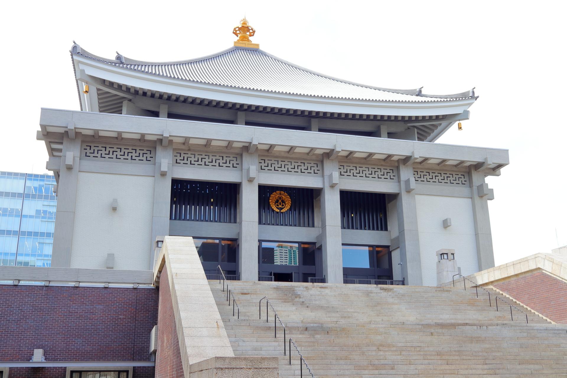大阪・北御堂(浄土真宗本願寺派 本願寺津村別院)