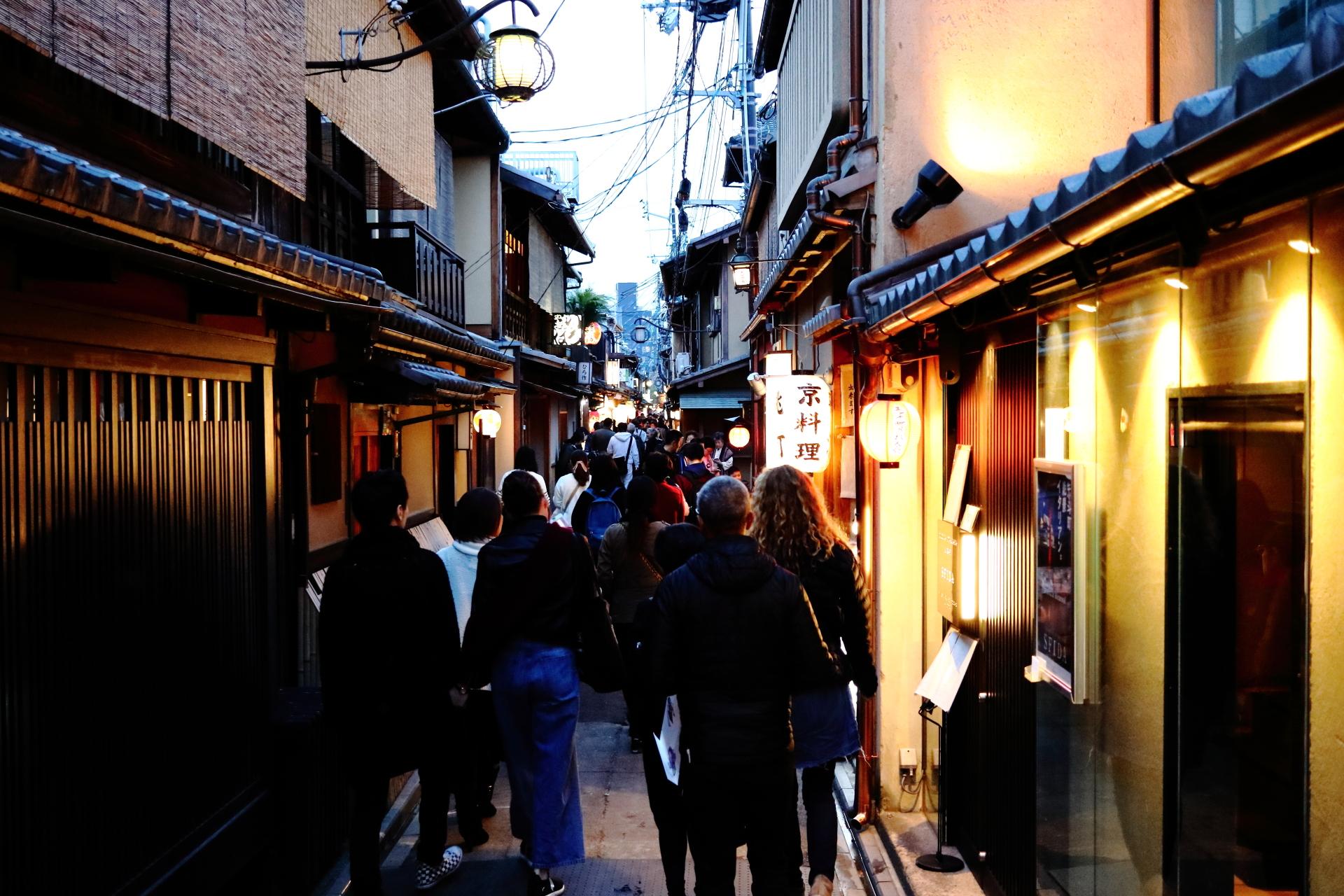 祇園と並ぶ花街 先斗町